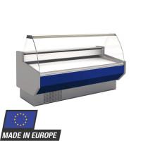 Kühltheke Profi 200 - rundes Frontglas | Kühltechnik/Kühltheken/Imbisskühltheken
