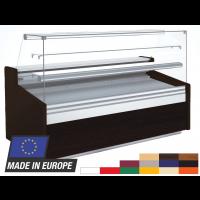 Comptoir à gâteaux Profi 130 verre frontal plat