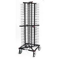 Jackstack Tellerwagen auf Rädern für 104 Teller   Lager & Transport/Geschirr- & Glastransport/Tellerstapler