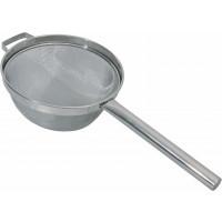 Passoire de cuisine avec manche creux, inox, diamètre 23cm