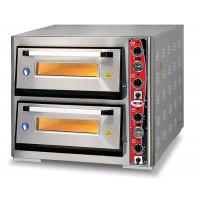 GMG Pizzaofen Classic 6+6 x Ø 30 mit Thermometer | Kochtechnik/Pizzaöfen/Doppelkammer-Pizzaöfen