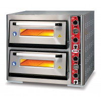 GMG Pizzaofen Classic Lux 4+4 33cm 400V | Kochtechnik/Pizzaöfen/Doppelkammer-Pizzaöfen