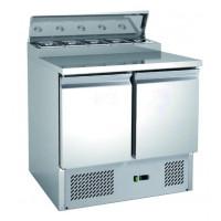Belegstation ECO 900 für 5 x 1/6 GN Behälter | Kühltechnik/Kühltische/Belegstationen