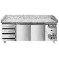 Pizzatisch ECO 2/7 | Kühltechnik/Kühltische/Pizza-Kühltische