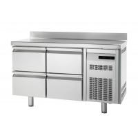 Tiefkühltisch Premium 0/4 mit Aufkantung | Kühltechnik/Kühltische/Tiefkühltische