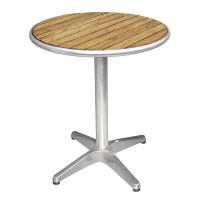 Table de café Bolero 600mm ronde avec plateau en bois de frêne
