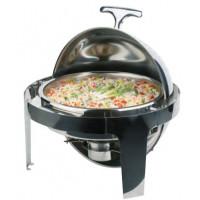 APS Rolltop-Chafing Dish -ELITE- Ø 45 cm, H: 45 cm, 5 Liter