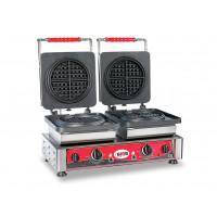 Waffeleisen American Ø16 - doppelt, wechselbare Backplatten | Kochtechnik/Saisongeräte/Waffeleisen
