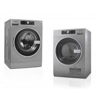 Machine à laver et sèche-linge à condensation 8 kg Whirlpool Silverline S/PRO